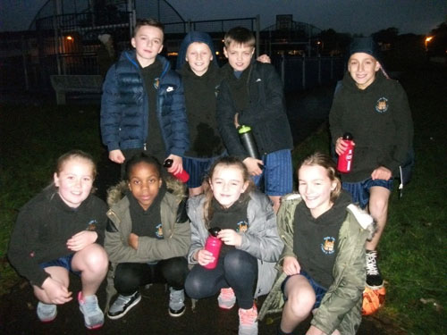 Our Year 6 Cross Country team