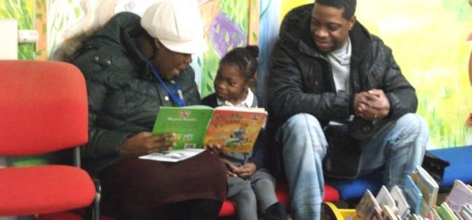 Racing to Read – positive parental participation