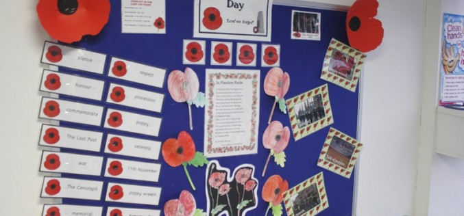 Remembrance Day at Bells Farm