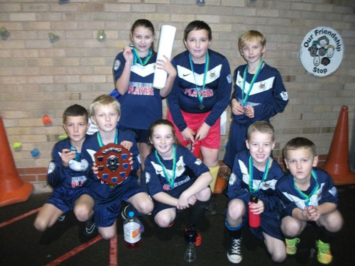 Winners - well done our Year 5 and 6 hockey champions