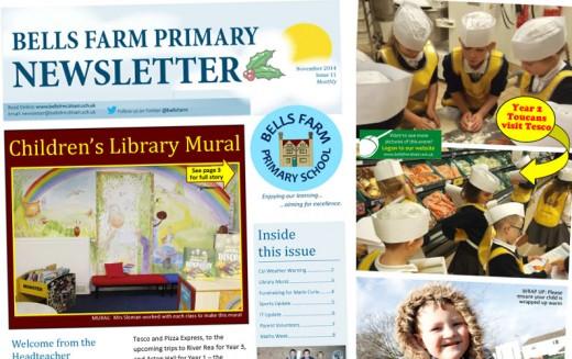 Read online our November school newsletter