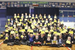 Attendance Awards assembly photos