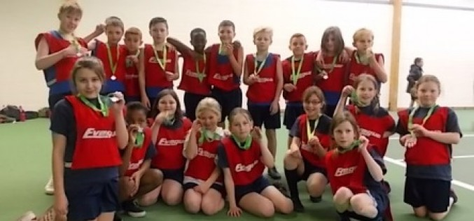 Year 5 and 6 finish in second place at athletics tournament