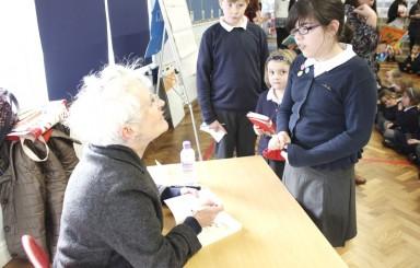 Author Vivian French visit