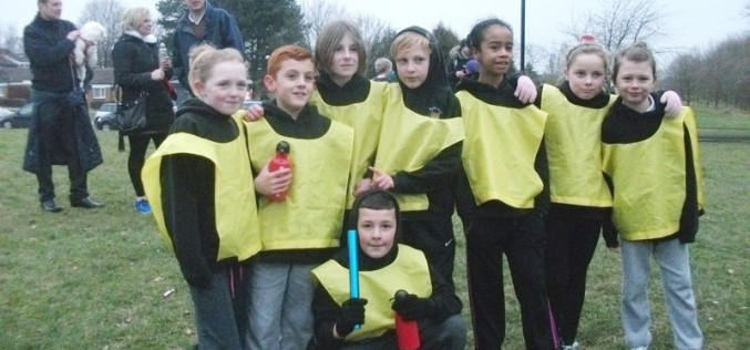 Year 5 take part in Cross Country Challenge