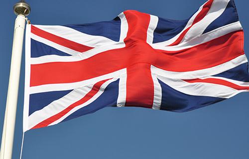The Union Jack -Britain's flag