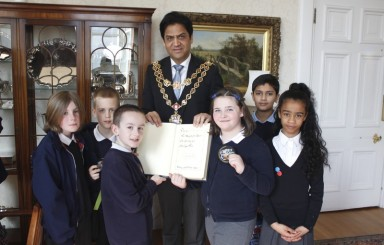 Year 5 Council House visit