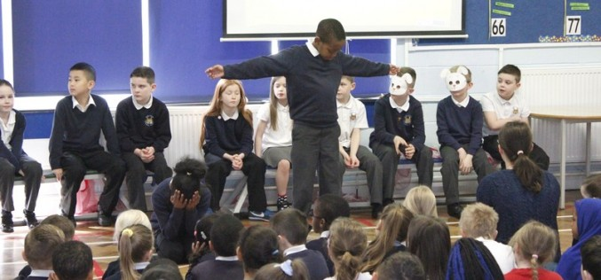 Photos of Year 4 Easter Assembly