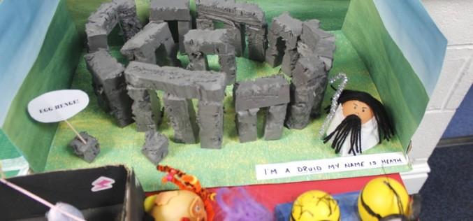 Children get egg creative for Easter!