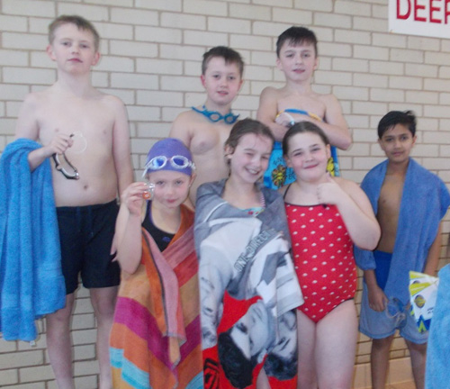Year 5 and Year 6 compete in Swimming Gala