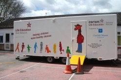 Health caravan checks in at Bells Farm