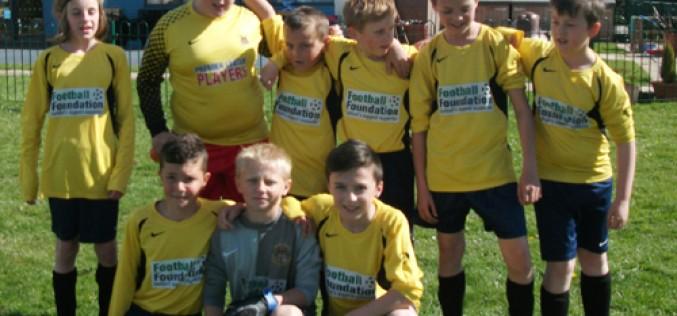 Boys football beat Tiverton 6-1