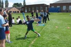 Year 3 and 4 take part in athletics competition
