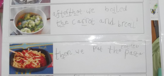 Writers of the Week: Reception Swans class