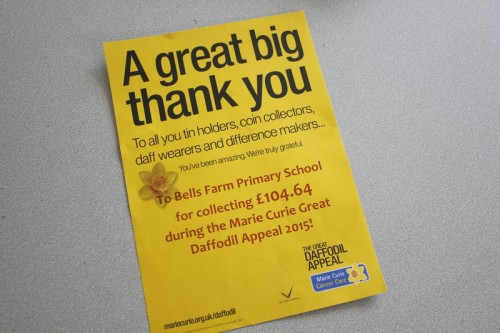 A certificate from Marie Curie