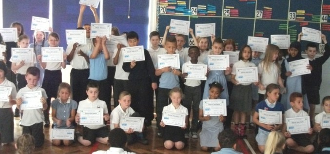 Photos of Sports Day Awards assembly