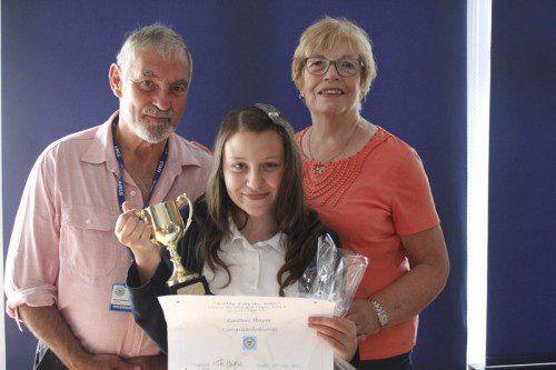 Caitlin winner of Bells Farm 500