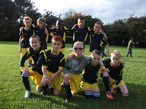 Year 5 and 6 boys  narrowly miss out