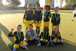 Second place for Year 4 mixed football tournament