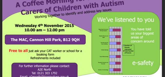 Coffee Morning for parents with autistic children