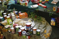 Harvest Festival Assembly and Donations