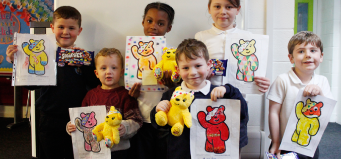 'Children in Need' competition winners