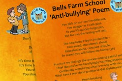 Our anti-bullying school poem