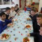 OAP's and Year 6 grandparents attend Christmas lunch