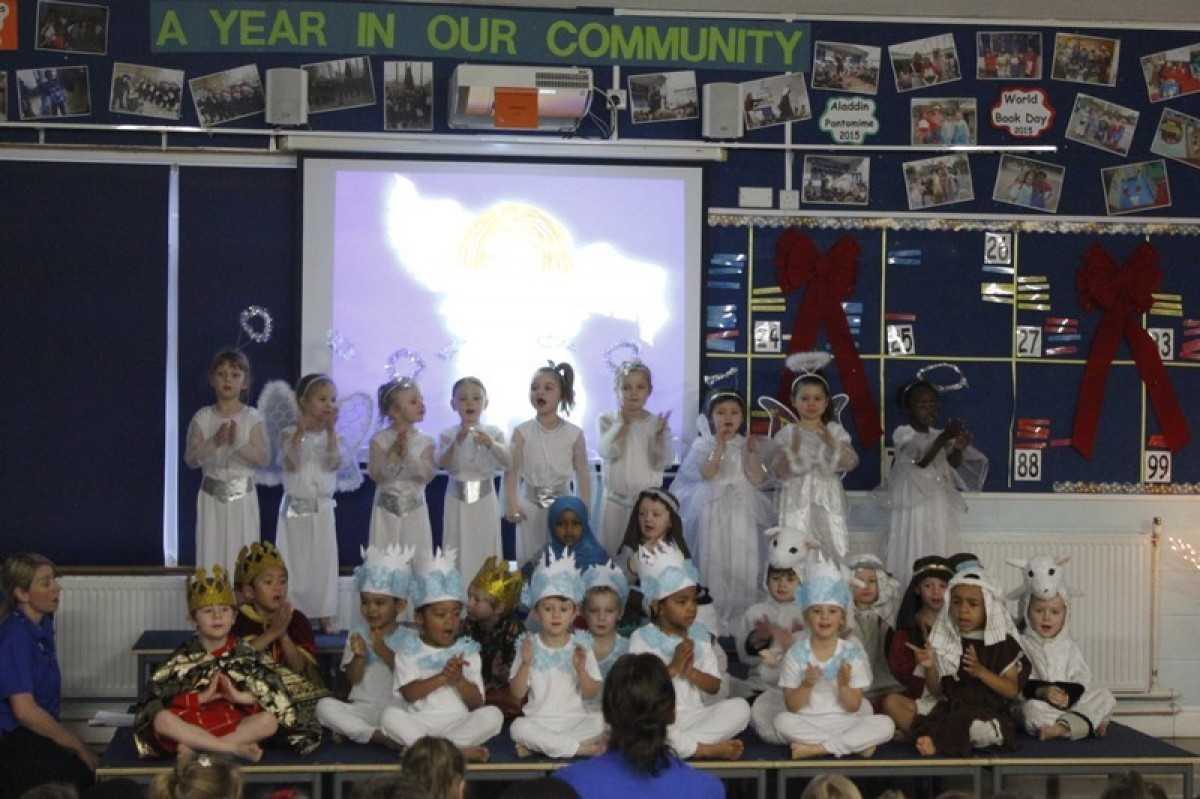 Reception Nativity Performance 2015