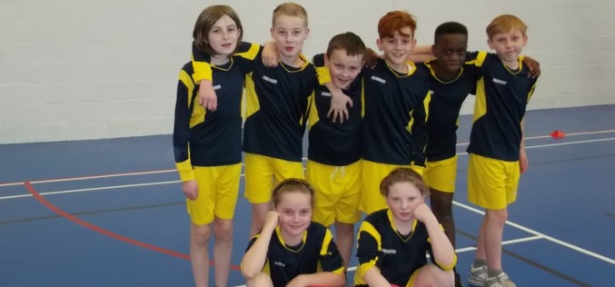 Year 5/6 take part in dodgeball competition