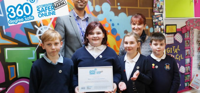 Bells Farm receive e-Safety award