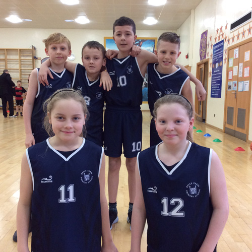 Bells Farm Year  5/6 basketball team