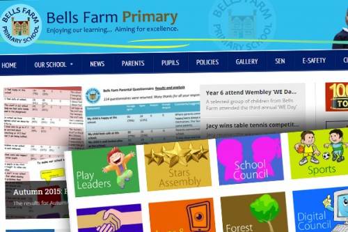 Our popular school website