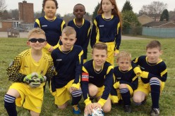 Year 4 and Year 5 take part in football tournament
