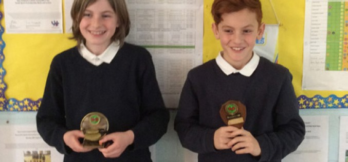 Jacy wins table tennis competition