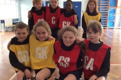 Y5 and Y6 take part in netball competition