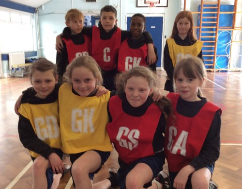 Year 5 and Year 6 netball team