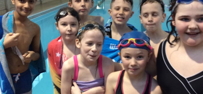 Year 5/6 take part in swimming competition