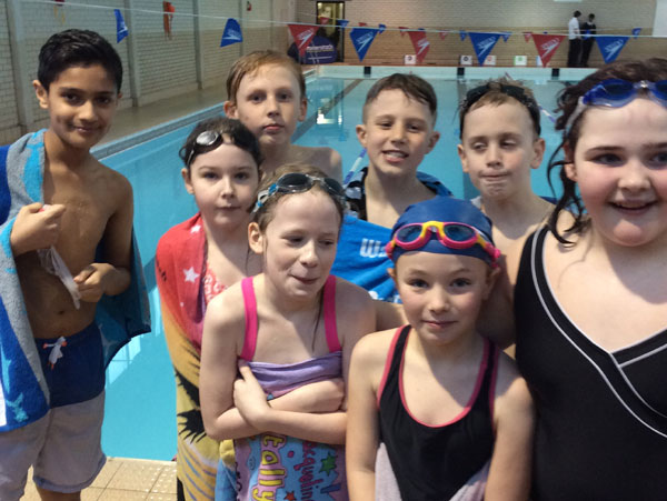 Year 5 and Year 6 take part in swimming competition