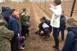 Photos of Year 5's Stocks Farm trip