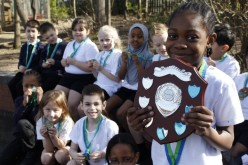 Year 2 awarded Multi Skills trophy