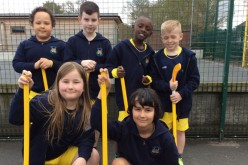 Year 4 finish third in hockey  compeition