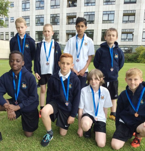 Our Year 6 cricket team finish 3rd