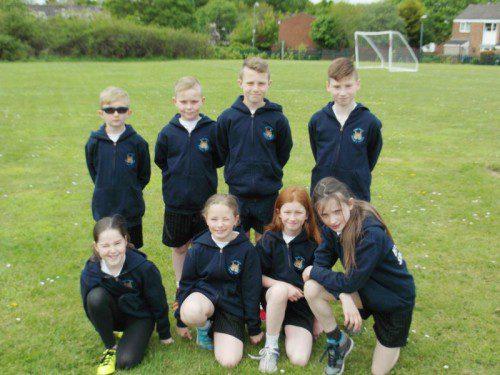 Year 5 children show great teamwork and spirit