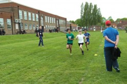 Year 5 take part in Super 4's Athletics