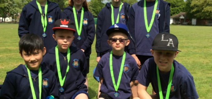 Year 5 finish third in cricket tournament