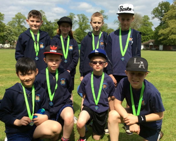 Year 5 finish third overall out of 26 participating teams