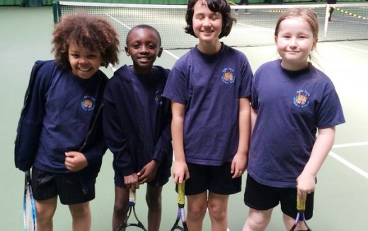 Year 4 reach final in tennis competition