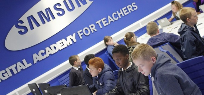 Year 6 take part in Computing at Samsung Digital Academy