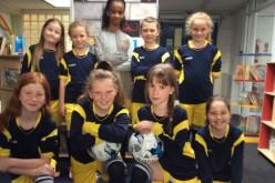 Girls football 7-a-side progress to finals